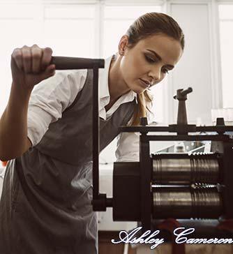 Author Ashley Cameron