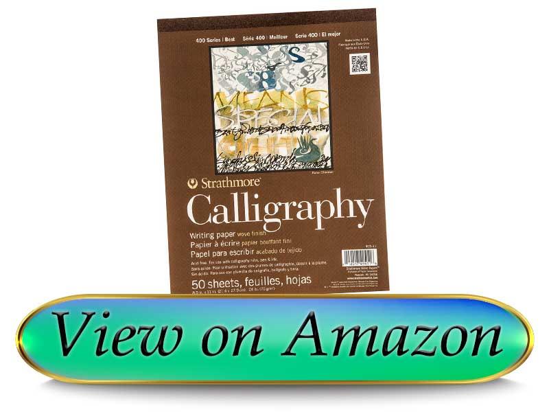 Strathmore STR 50 Sheet Calligraphy Pad