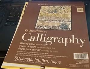 Strathmore STR Calligraphy Pad Review
