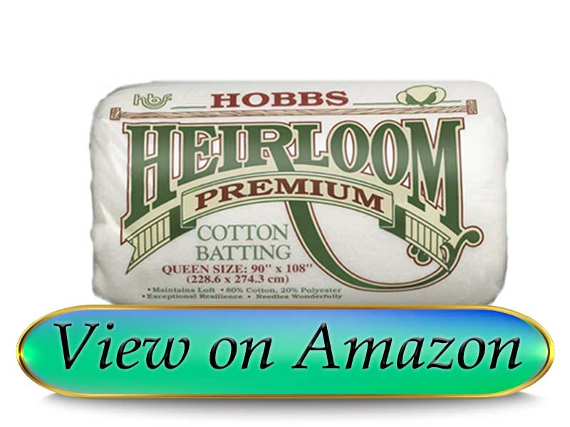 Hobbs Heirloom Premium Batting for Quilting