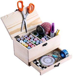 BTU Wooden Sewing Basket Review