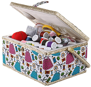 SEWKIT Medium Sewing Basket Organizer Review