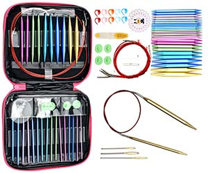 Looen Aluminum Circular Knitting Needles Set Review