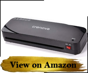 Crenova A4 Laminator - Read Reviews and Buy on Amazon