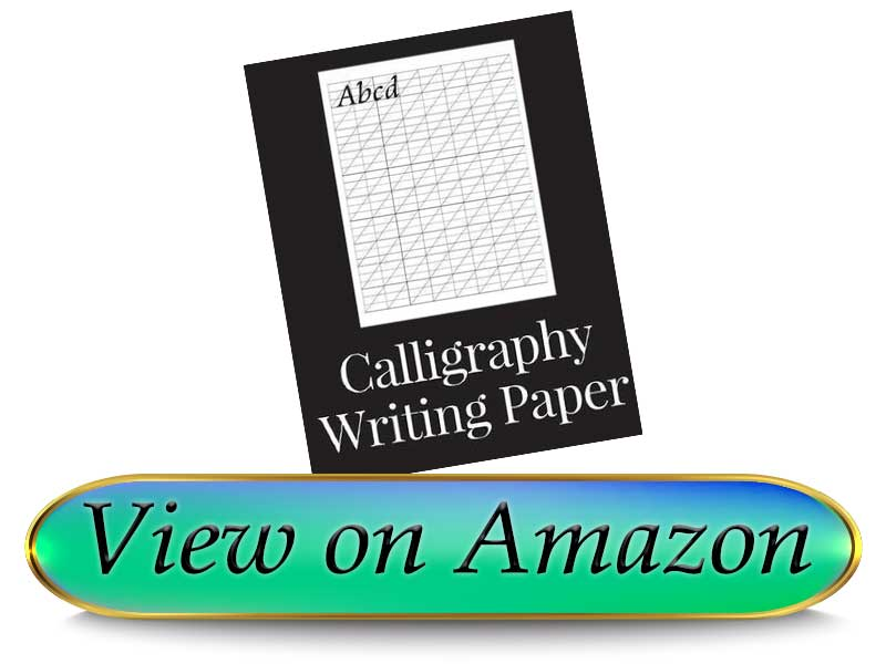 Keven Odell Calligraphy Writing Paper 150 sheet pad