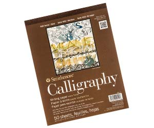 Strathmore Bound Calligraphy Pad Review