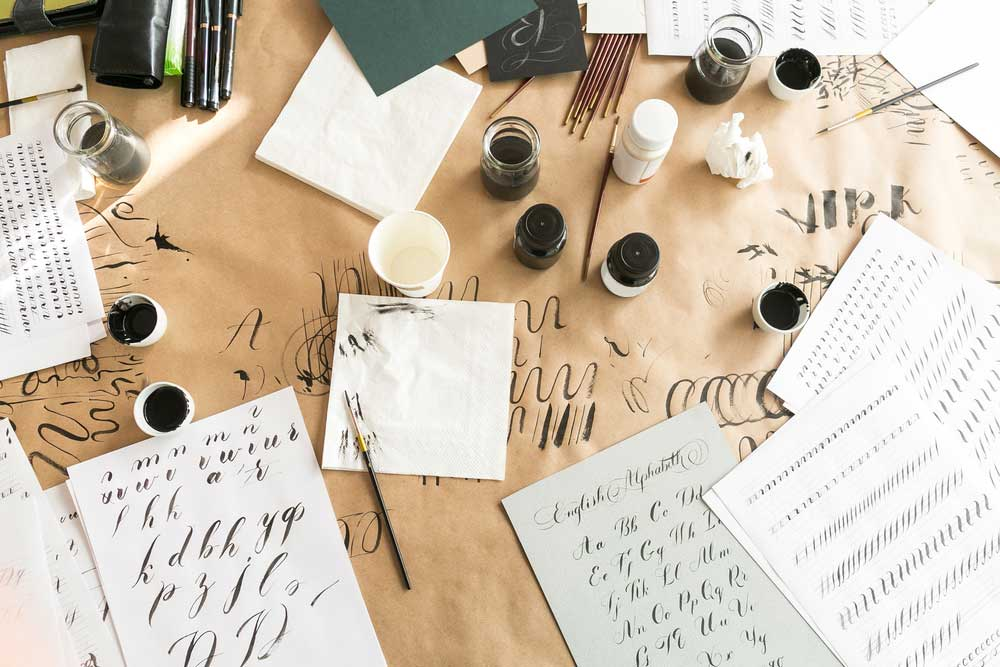 how to use calligraphy practice paper