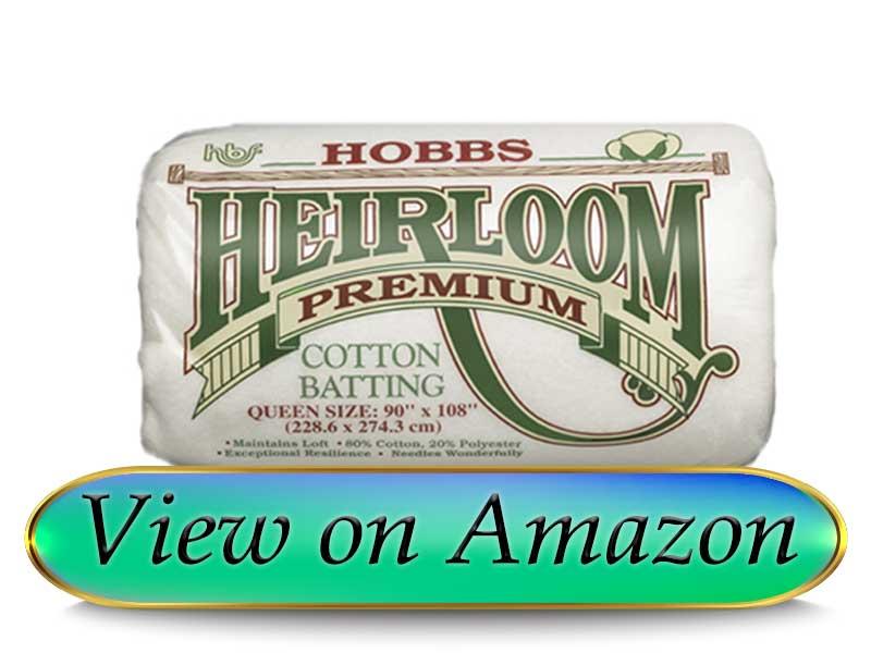 Hobbs Heirloom Premium Batting for Quilting