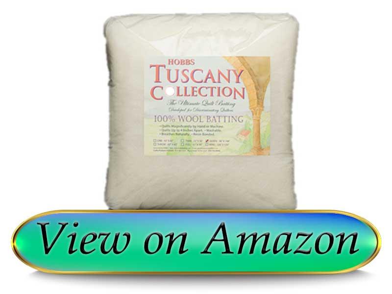 Hobbs Tuscany 100% Wool Quilt Batting